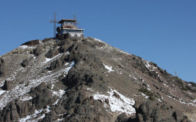 Mt. Washburn Historic Fire Watch Tower, Yellowstone National Park