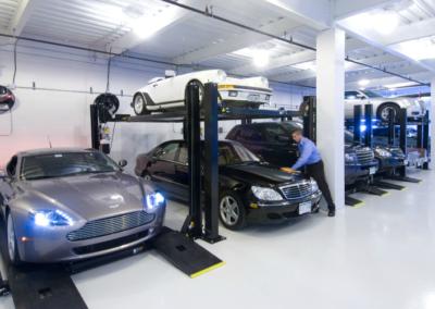 Private Corporate Parking Garage