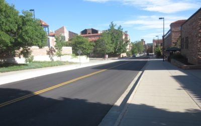 University of Colorado, Boulder, 18th street upgrades