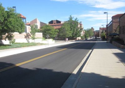 University of Co, 18th Street Upgrades 2