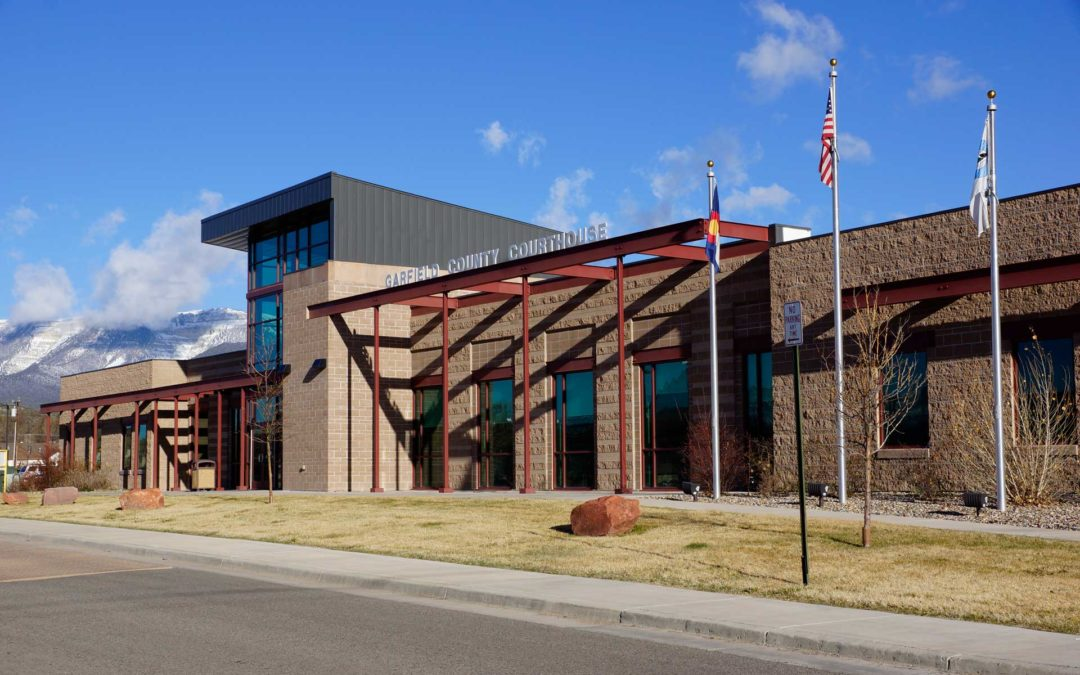 Garfield County Courthouse, Rifle Colorado